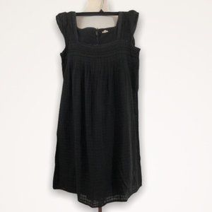 J CREW Charcoal Gray Babydoll Dress Size XS